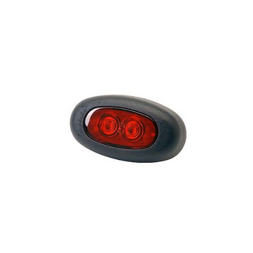 Red Front Marker LED Lamp With Flying Leads - 12/24V-851/02/04PP